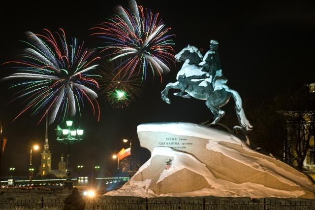 Салют, День снятия блокады: Фото