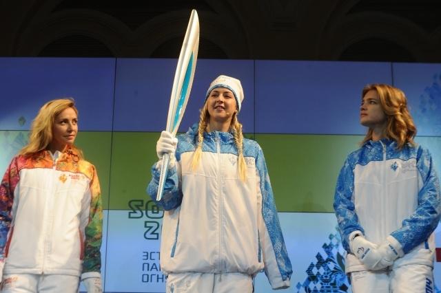 Факел Олимпиады 2014: Фото