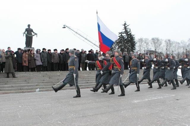 Пискаревское кладбище 27 января 2013: Фото