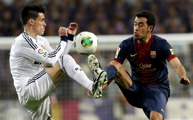 Реал Барселона 30 января 2013: Фото