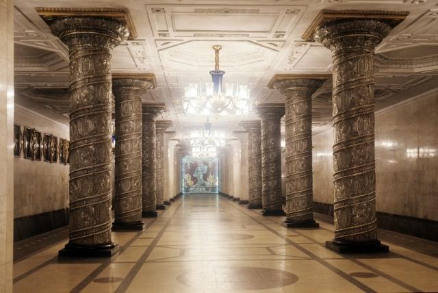 Самые впечатляющие станции метро: Фото