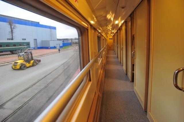 Двухэтажные вагоны: Фото