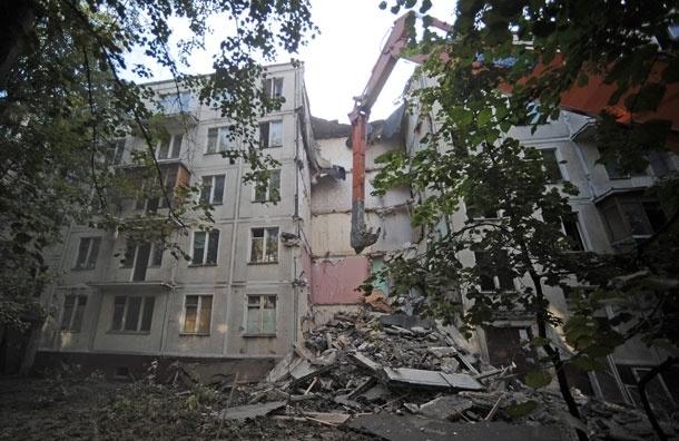 Москва не расстается со старыми пятиэтажками?