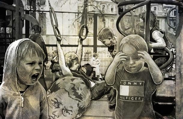 Скучные и опасные детские площадки Петербурга: рейтинг по районам