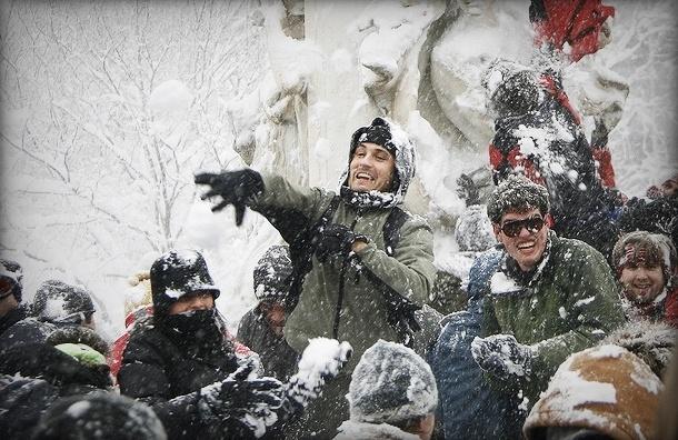 Чиновники запретили «Снежную битву» в Невском районе