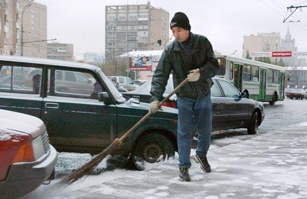 Московский снежный коллапс: будьте внимательны!