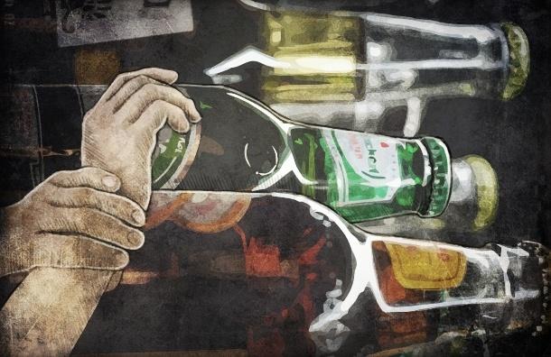 Пиво и водку в Петербурге продают по ночам в спальных районах - «МР» проверил