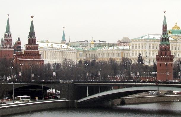 Напротив Кремля вывесили экстремистский баннер