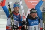 Биатлон, 6 января 2013, гонка преследования, результаты, мужчины: Россияне заняли два первых места!