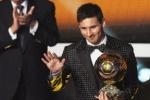 Месси выиграл Золотой мяч 2012, но остался недоволен