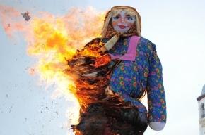 В Петербурге сожгут чучело Масленицы и накормят блинами за 2,5 млн рублей