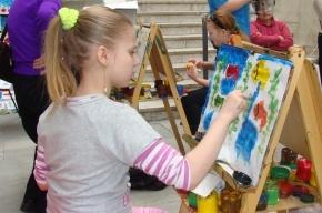 Дети раскрасят город: интерактивная выставка  «Краски детства»