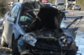 На проспекте Космонавтов столкнулись 5 машин, один человек погиб