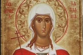 В Петербурге поставят памятник святой Татьяне