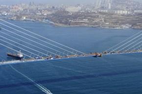 При строительстве моста на остров Русский расхитили металл на 100 млн