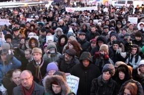 В Петербурге собирают подписи против губернаторского закона о митингах