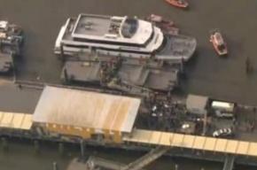 Паром с пассажирами потерпел крушение в Нью-Йорке