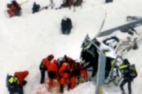 Шесть туристов из России разбились на снегоходе в Альпах