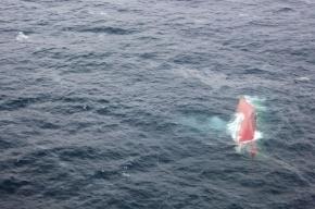 Спасатели прекратили поиск моряков затонувшего краболова «Шанс-101»