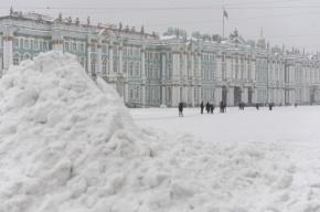 В Петербурге ждут сильный снег, ветер и гололед