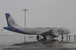 В аэропорту Казани самолет зацепил маяк