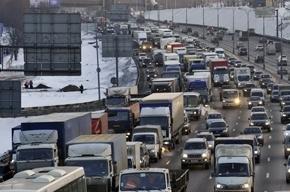 Грузовые автомобили в столице будут разгружать ночью