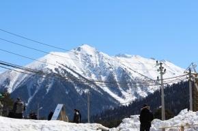 На Эльбрусе бесследно пропали трое альпинистов