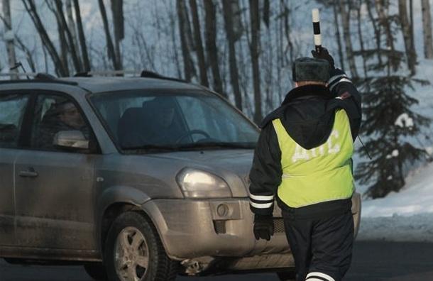 В Петербурге два водителя напали на инспекторов ГИБДД
