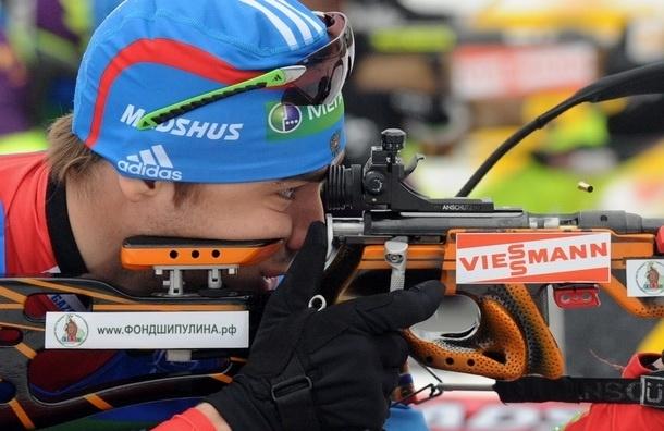 Биатлон. Мужскую эстафету выиграла сборная Норвегии. Россияне - четвертые.