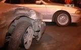 ДТП у метро Дыбенко 14.02.2013 - кадры: Фоторепортаж