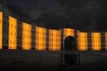 Подсветка Главного штаба СПб  (6): Фоторепортаж