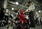 Открытие V Всероссийского фестиваля «РобоФест-2013»: Фоторепортаж