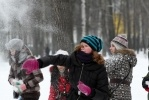 Снежная битва в Петербурге: Фоторепортаж