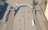 Фоторепортаж: «Надземные пешеходные переходы проспект славы»