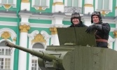 Фоторепортаж: «День защитника Отечества в Петербурге»