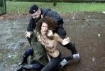 FEMEN Берлускони: Фоторепортаж