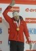 Биатлон женщины индивидуальная гонка, Бергер, Хенкель, одна из Семеренко, 13 февраля 2013: Фоторепортаж