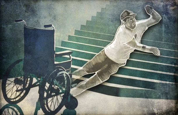 В метро «Международная» и «Волковская» инвалиды должны стать силачами
