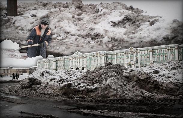 Три грязных способа уборки снега для ленивых коммунальщиков