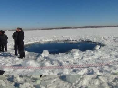 Метеорит Челябинск Чебаркуль: Фото