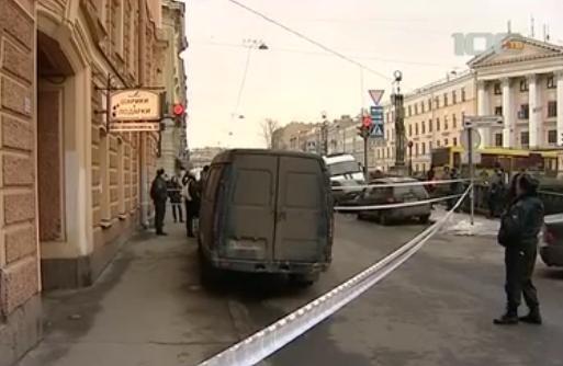На канале Грибоедова застрелился предприниматель: Фото