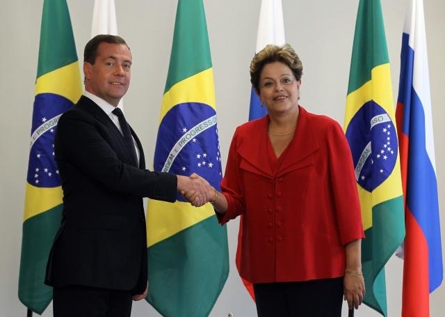 Медведев в Бразилии: Фото