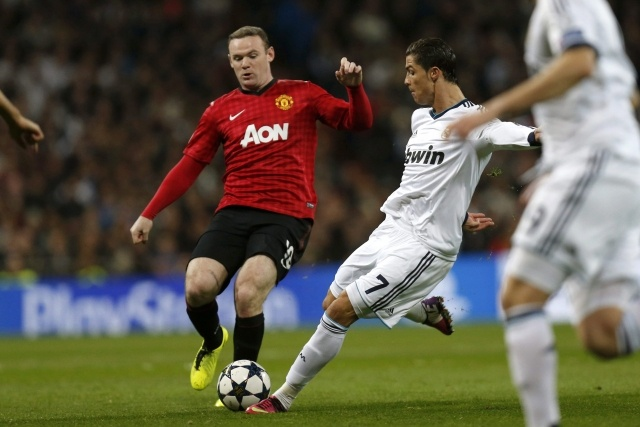 Реал - Манчестер 13 февраля 2013: Фото