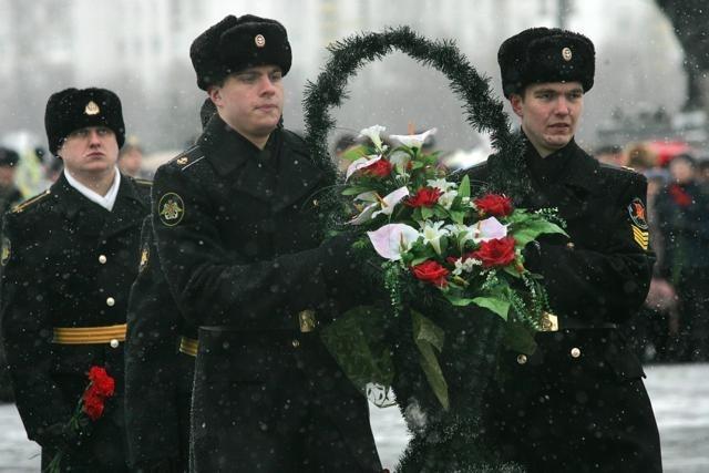 День защитника Отечества в Петербурге: Фото