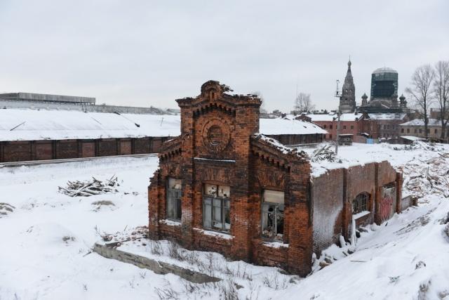 Сквот на Варшавском вокзале. Разгон: Фото