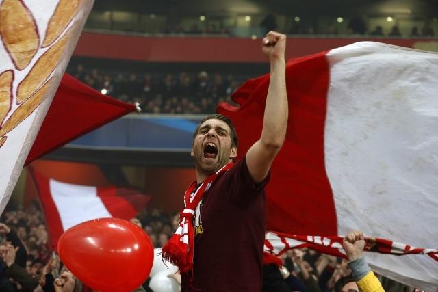 Арсенал – Бавария 19 февраля 2013 года: фоторепортаж: Фото