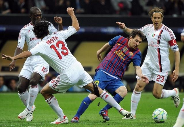 Милан Барселона 2011: Фото