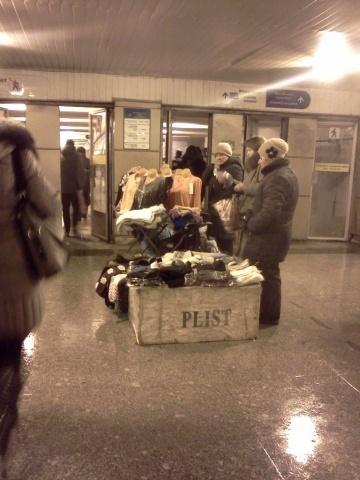 Стихийная торговля в Петербурге: Фото