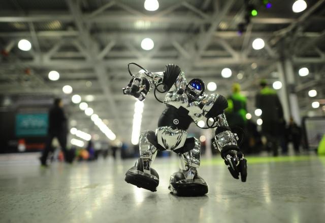 Открытие V Всероссийского фестиваля «РобоФест-2013»: Фото
