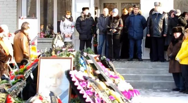 Василиса Голицына, похороны - фото: Фото